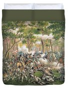 Battle Of The Wilderness May 1864 Duvet Cover