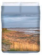 Bay At Shannon Airport Ireland 4 Duvet Cover