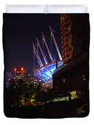 B.c. Place At Night Duvet Cover