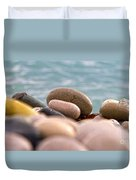 Beach And Stones Duvet Cover by Stelios Kleanthous