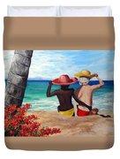 Beach Buddies Duvet Cover
