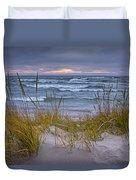 Beach By Holland Michigan No 0192 Duvet Cover