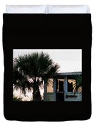 Beach Cottage Clothesline Duvet Cover