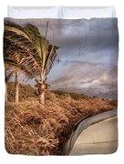 Beach Days Of Yester-year Duvet Cover