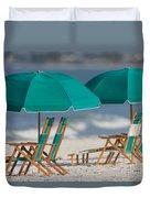 Beach Furniture I Duvet Cover