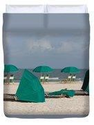 Beach Furniture II Duvet Cover