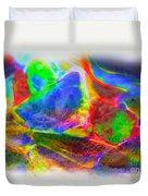 Beach Glass Abstract Duvet Cover