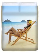 Beach Lounger Duvet Cover by Tomas del Amo