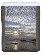 Beach Of Glass Duvet Cover
