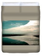 Beach Reflection Duvet Cover