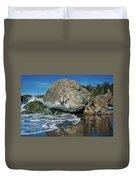Beach Rock Duvet Cover