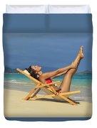 Beach Stretches Duvet Cover