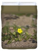 Beach Wildflower Duvet Cover