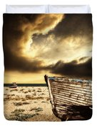 Beached In Color Duvet Cover