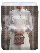 Beaded Handbag Duvet Cover by Joana Kruse