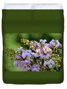 Beaded Lavender Lace Duvet Cover