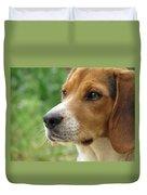 Beagle Gaze Duvet Cover