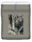Bear Creek Falls Duvet Cover