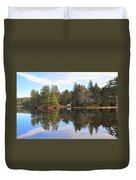 Bear Creek Lake Duvet Cover