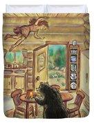 Bear In The Kitchen - Dream Series 7 Duvet Cover
