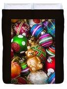 Bear Ornament Duvet Cover
