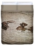 Beast Of Burden Duvet Cover