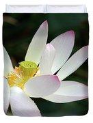 Beatutiful Wet Lotus Duvet Cover
