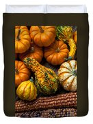 Beautiful Autumn Duvet Cover by Garry Gay