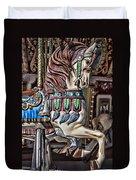 Beautiful Carousel Horse Duvet Cover