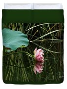Beautiful Fallen Lotus Duvet Cover