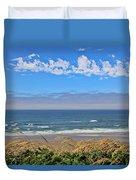 Sunshine Beach Duvet Cover