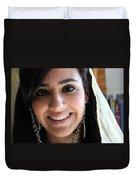 Beautiful Smile Duvet Cover