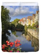 Beautiful Tuebingen In Germany Duvet Cover