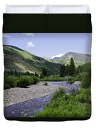 Beautiful Vail - Colorado Duvet Cover