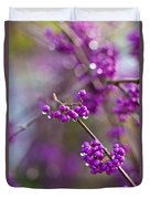 Beauty Berry Explosion Duvet Cover