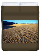 Beauty Of Death Valley Duvet Cover by Bob Christopher
