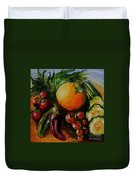 Beauty Of Good Eats Duvet Cover