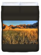 Beauty Of The Badlands Duvet Cover