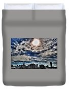 Beauty Of The Morning Sky Duvet Cover