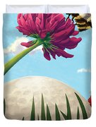 All Players Great And Small - Bee Duvet Cover