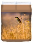 Bee Eater With Insect Duvet Cover
