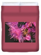 Bee On Lollypop Blossom Duvet Cover