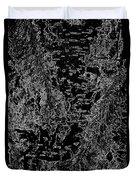 Beech Tree Digital Art Duvet Cover
