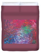 Belief In Cool Fire Duvet Cover