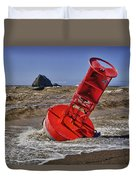 Bell Buoy Duvet Cover by Garry Gay