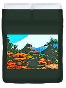 Bell Rock Sedona Arizona Duvet Cover