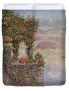 Bellagio From Tremezzo Duvet Cover