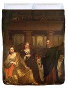 Belshazzar's Feast Duvet Cover