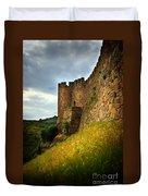 Belver Castle Duvet Cover by Carlos Caetano