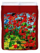 Beneath The Autumn Tree Duvet Cover